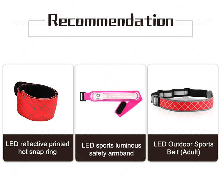 AIDI reflective led slap bracelet bulk with good price for adults-1