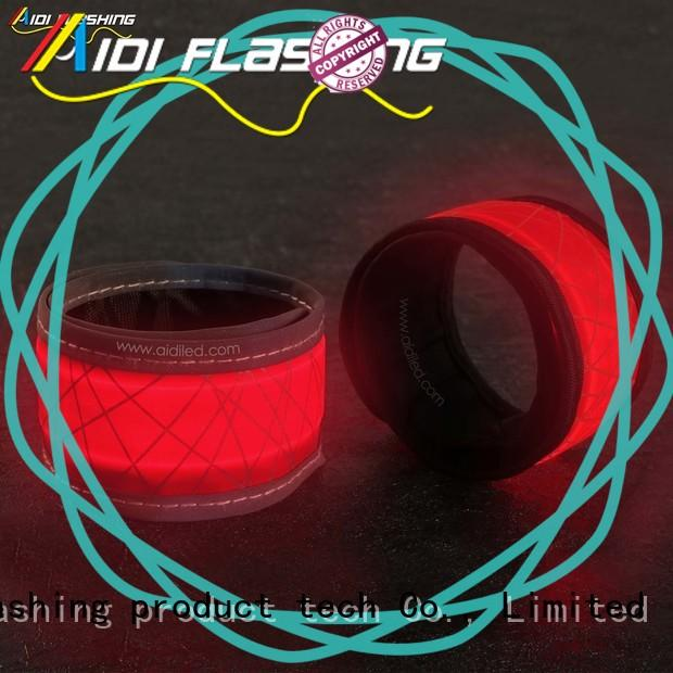 Led slap band with reflective printing (for adults) AIDI-S8