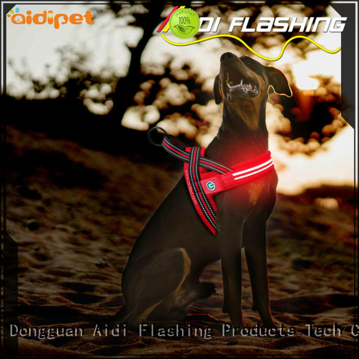 AIDI led dog harness series for park