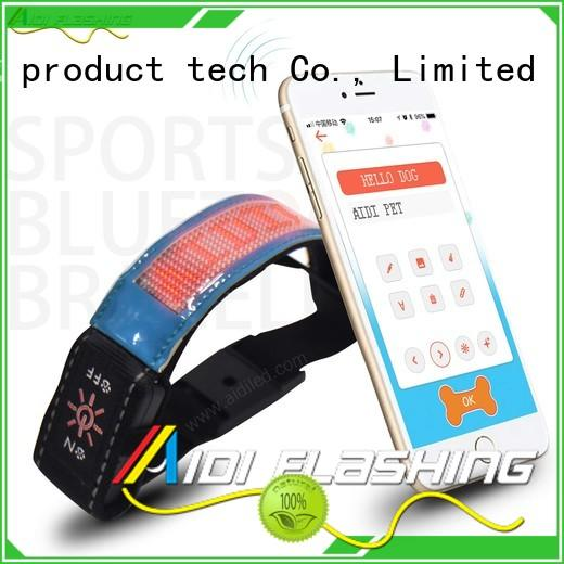 comfortable led armband running series for man