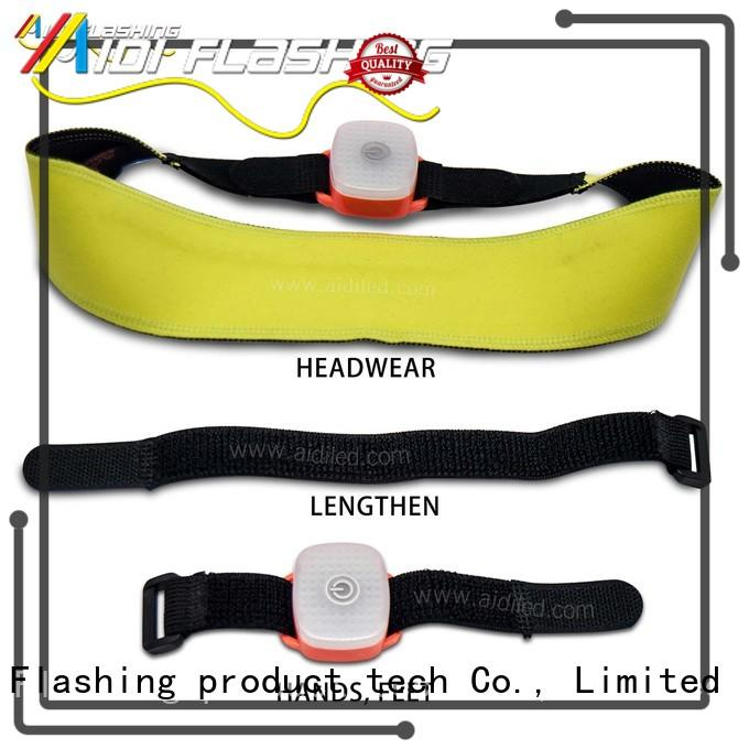 safety glow in the dark sweatband wholesale for woman