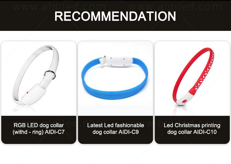 AIDI filament lightning dog collar design for outdoors-1
