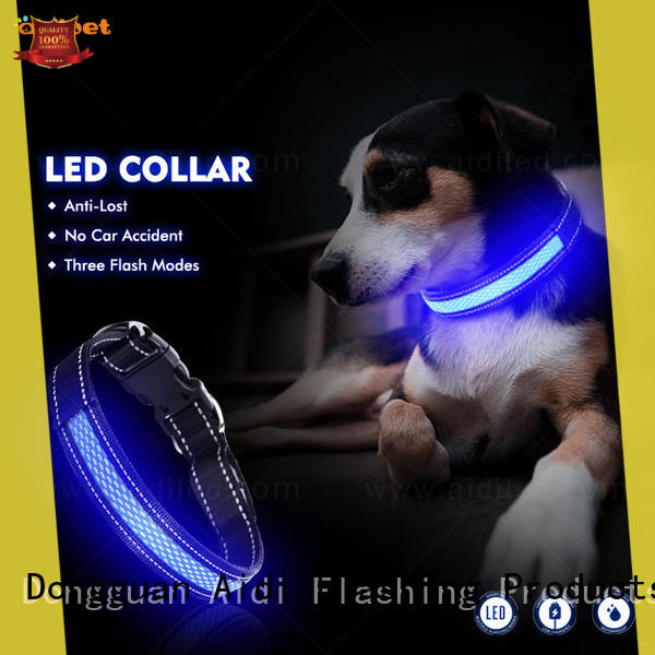 AIDI filament dog collar led flashing light inquire now for pet