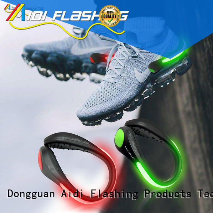 AIDI led shoe clip factory for adults