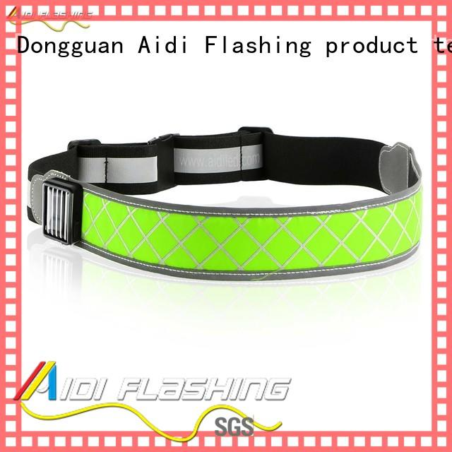 white jogging waist belt customized for man