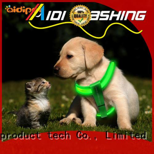 AIDI flashing dog harness manufacturer for pet