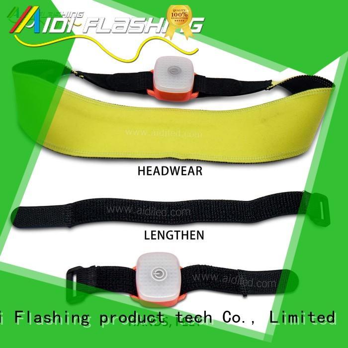 Safety  head Led sweatband AIDI-S19