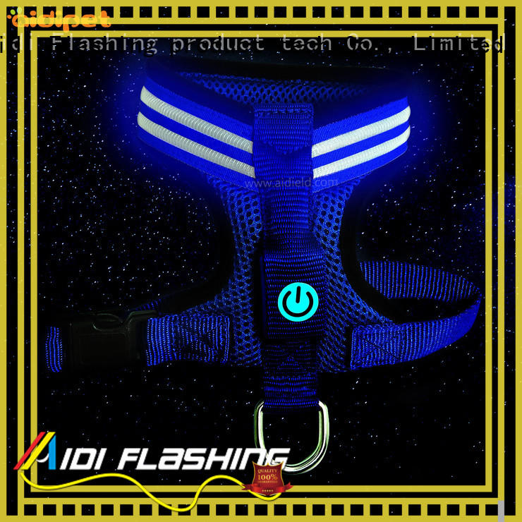 led dog harness directly sale for park