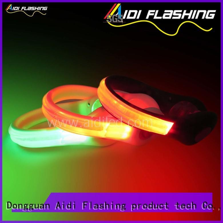 professional led shoe clip lights design for outdoors