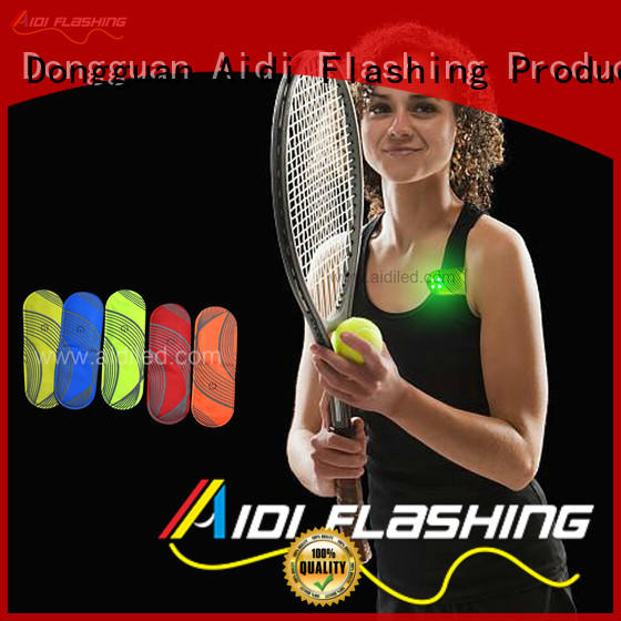 durable clip on running light factory price for adults