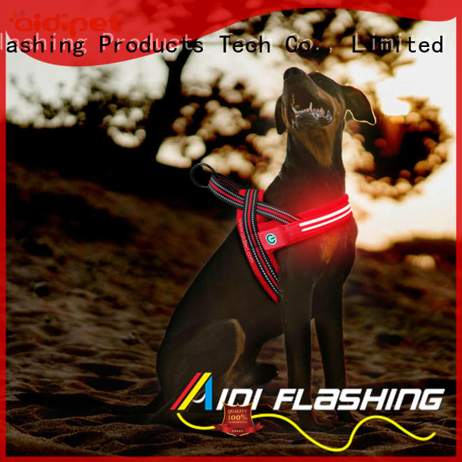 AIDI led dog harness manufacturer for street