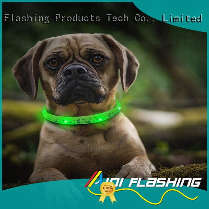 AIDI durable light up dog collar inquire now for outdoors