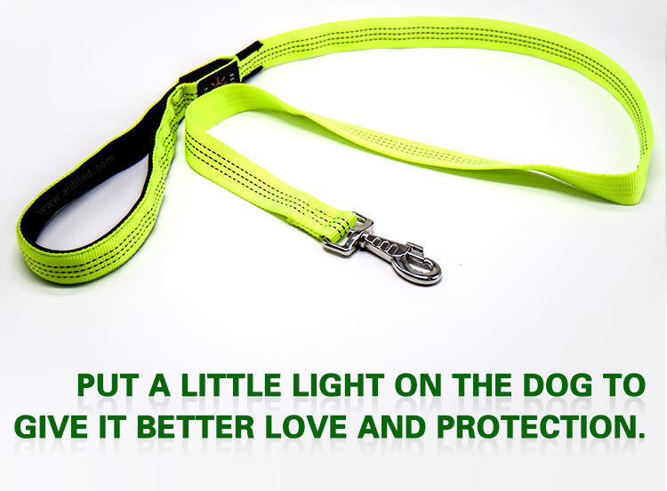 reflective best led dog leash inquire now for park-3