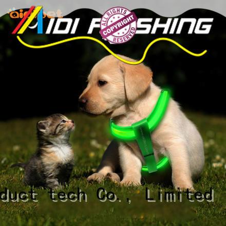 AIDI fishing net reflective dog harness directly sale for street