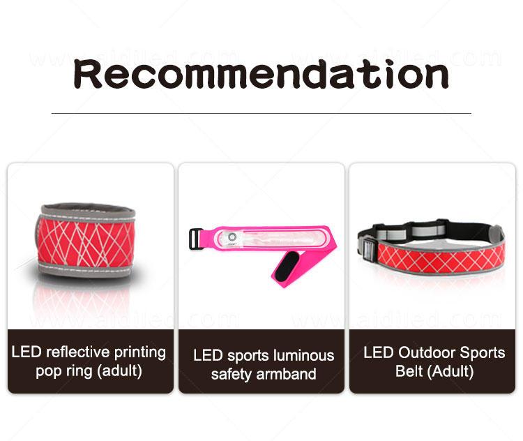 AIDI led slap bracelet with good price for sports-1