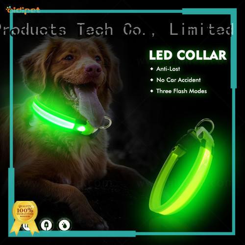 AIDI custom pet collars with good price for walking