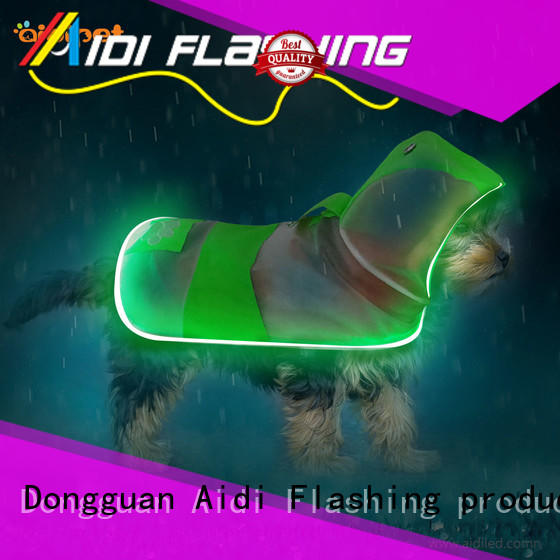 soft glow in the dark dog harness customized for pet