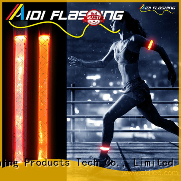 AIDI led slap bracelet with good price for sports