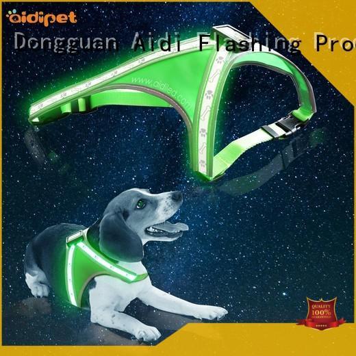 flashing lighted dog harness manufacturer for park