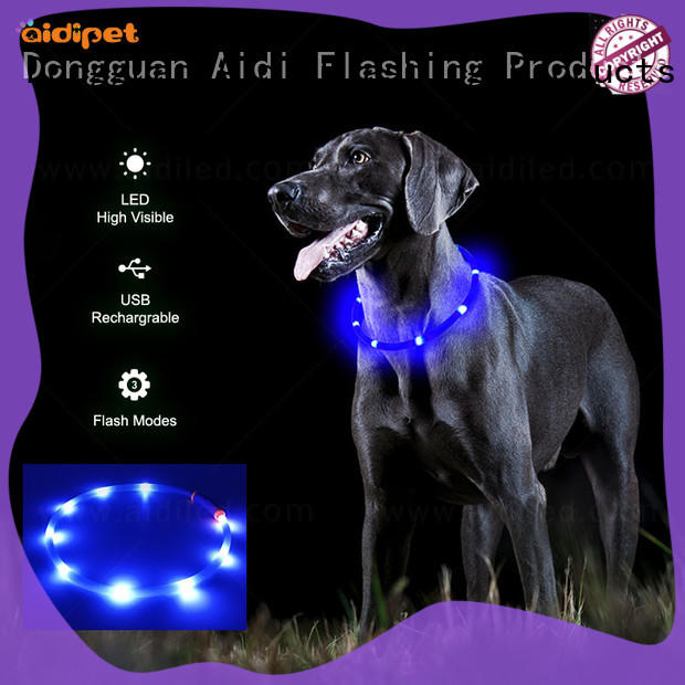 AIDI remote illusion dog collar with good price for outdoors