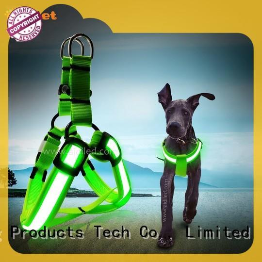 flashing illuminated dog harness from China for outdoors