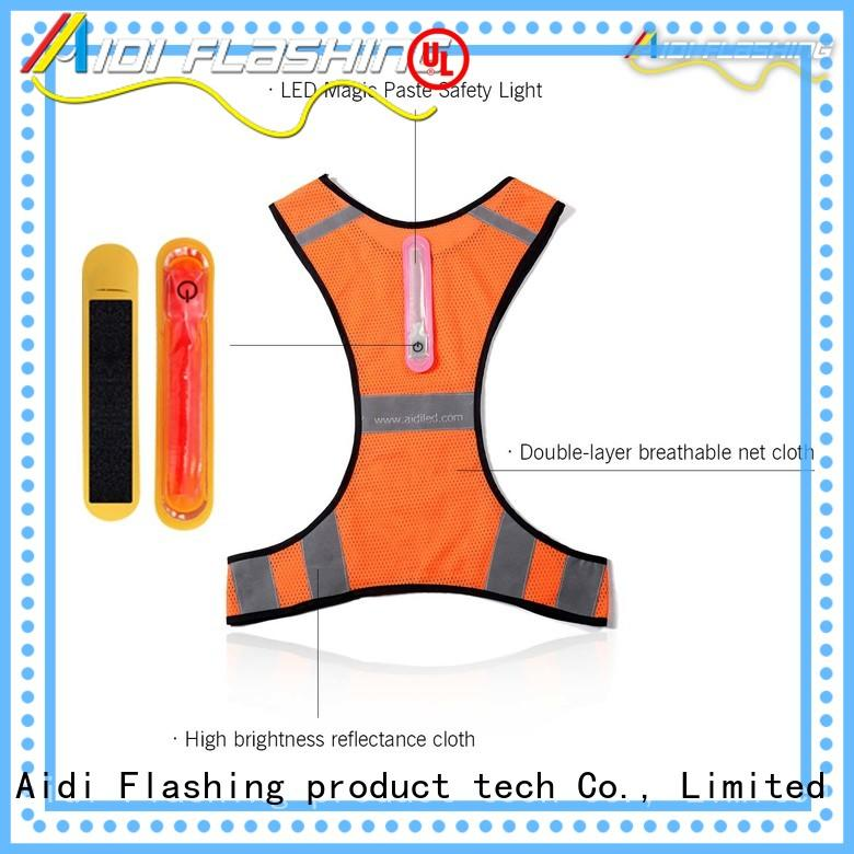 AIDI led vest from China for sports
