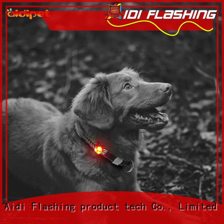 durable best dog collar light factory price for outdoors AIDI