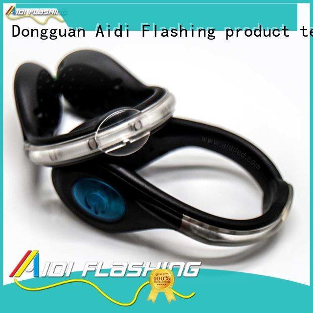 Led USB rechargeable clip on shoe light AIDI-S4