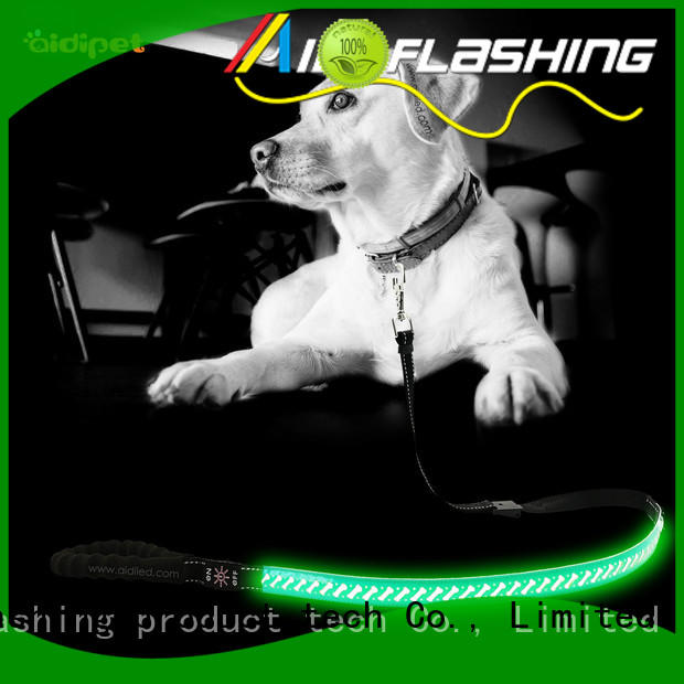 AIDI led led dog leash