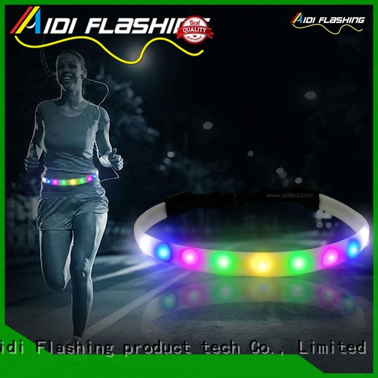 comfortable running waist belt customized for adults
