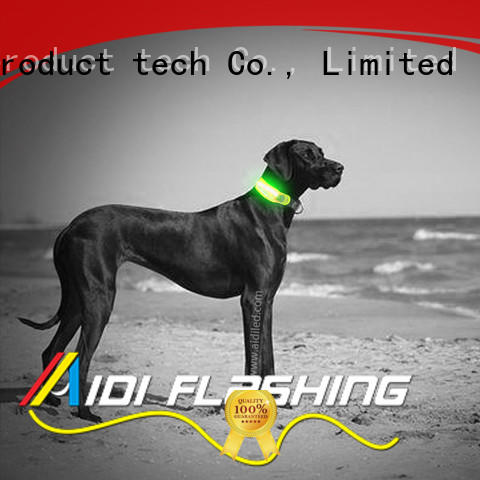 AIDI led dog collars and accessories wholesale for pet