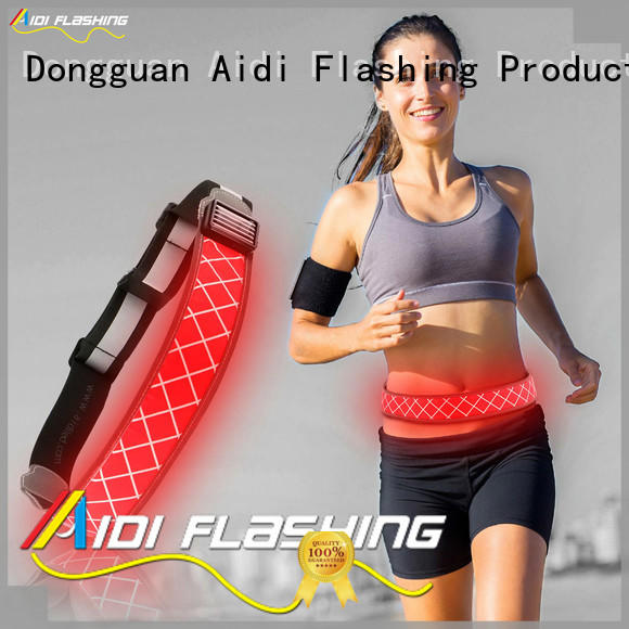 AIDI printing reflective waist belt directly sale for adults