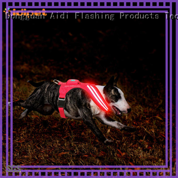 AIDI fishing net light up dog harness directly sale for outdoors