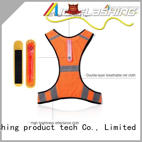AIDI light reflect reflective vest manufacturer for woman