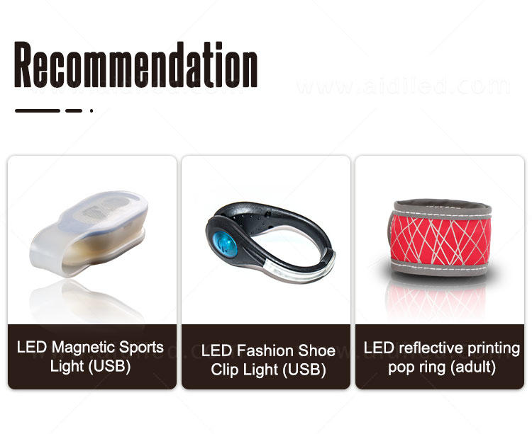 rechargeable safety lights for runners supplier for outdoors-2