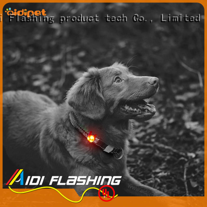 AIDI reflective pet collar accessories supplier for pet