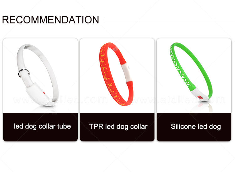filament led dog collar waterproof with good price for pet-2