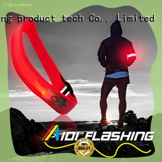 adjustable led armband running from China for outdoors