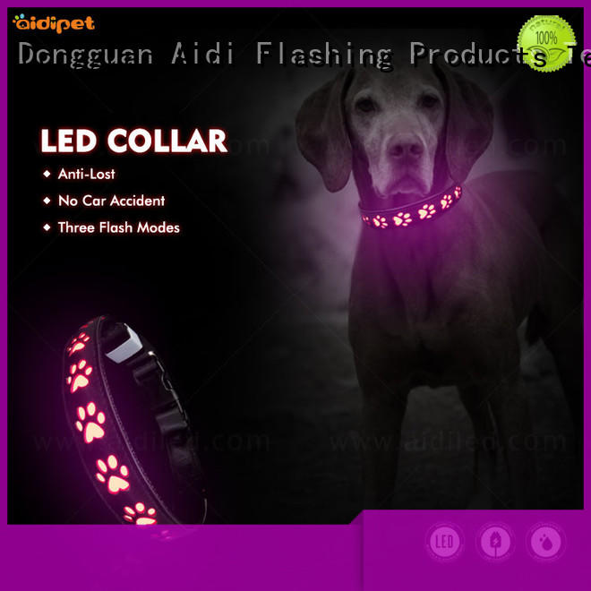 AIDI best dog collar light with good price for pet