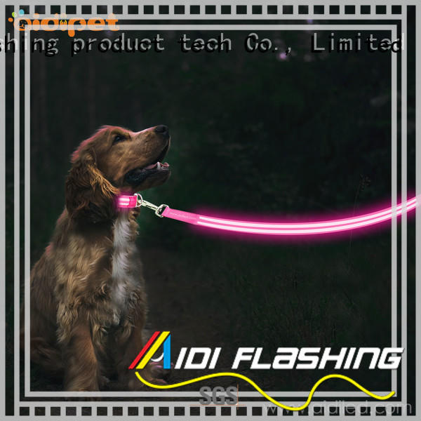 dog leash with flashlight design for park AIDI