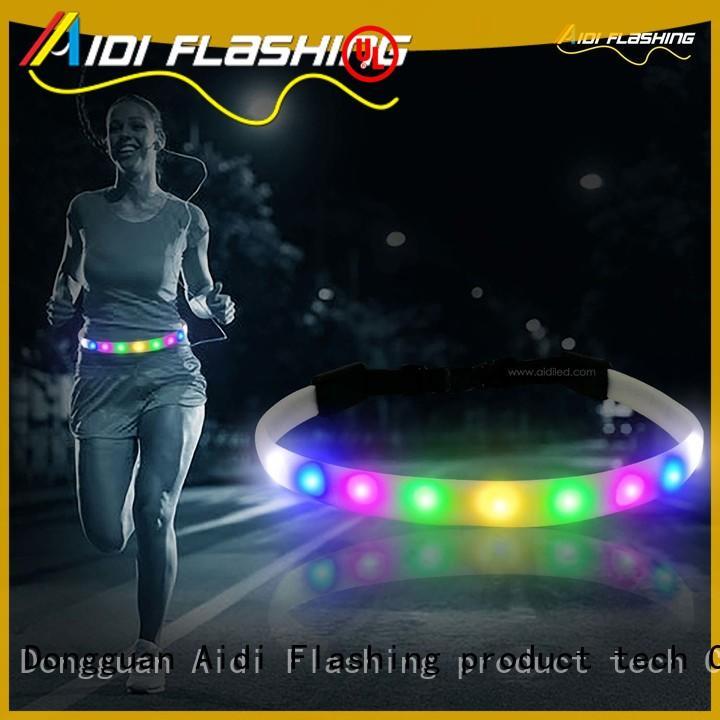 AIDI adjustable jogging waist belt customized for adults