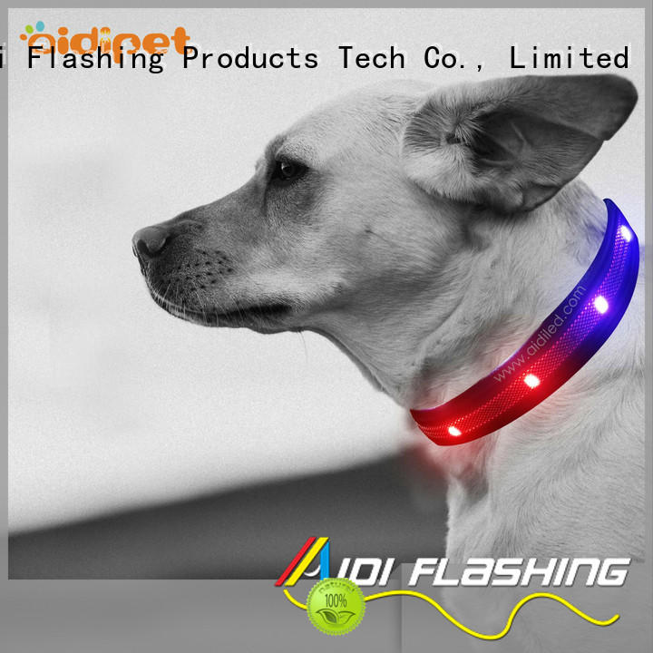 silicone dog collar lights waterproof inquire now for pet
