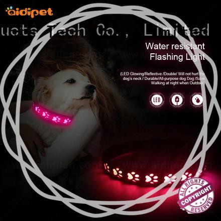AIDI dog collar lights waterproof with good price for pet