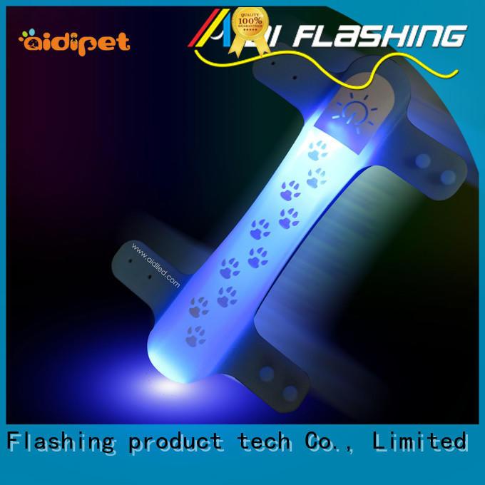 AIDI led dog collar accessory supplier for