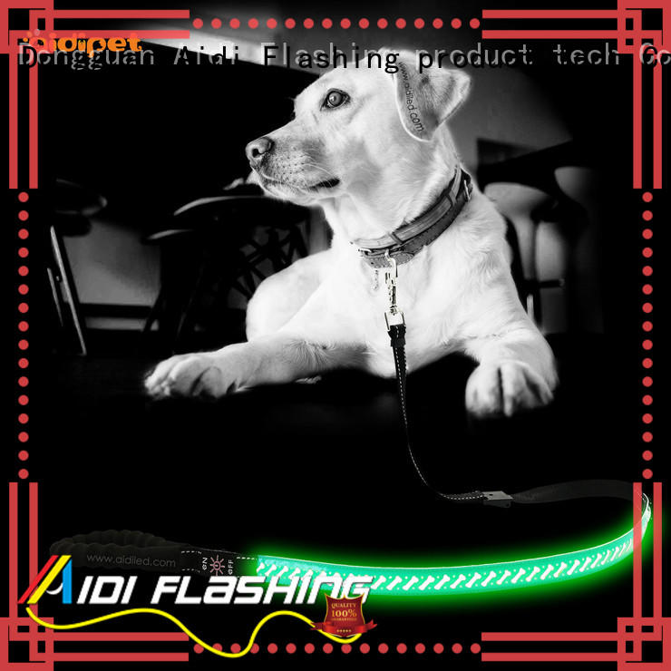fishnet dog leash with flashlight inquire now for walking