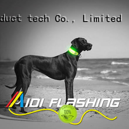 AIDI durable best dog collar light for park