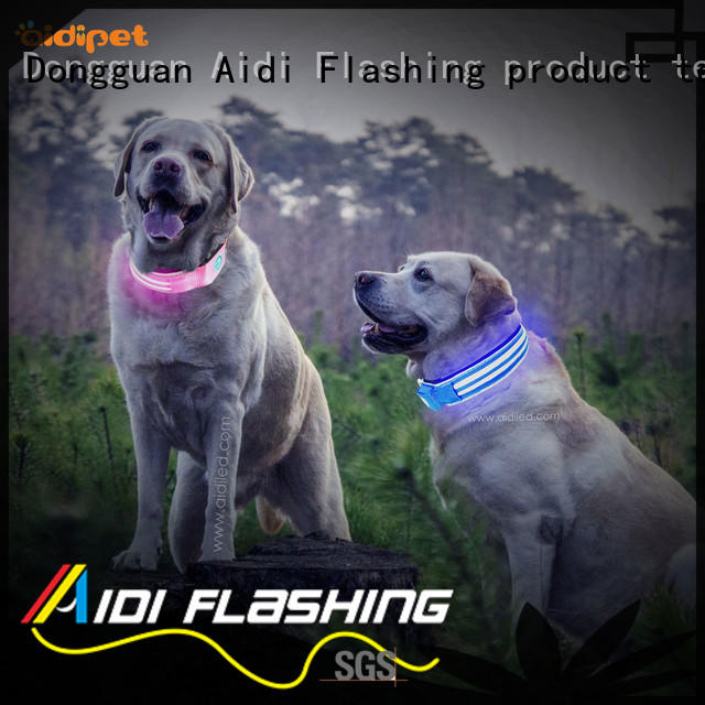 AIDI rechargeable dog collar light inquire now for outdoors