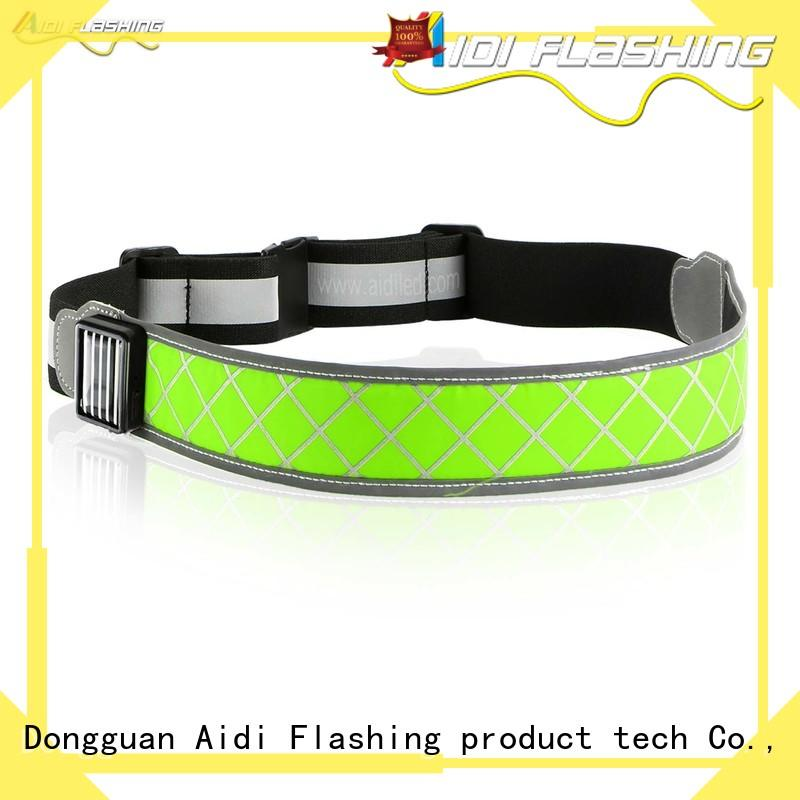 safety reflective waist belt manufacturer for outdoors