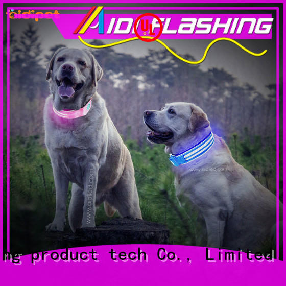 rechargeable flashing led dog collar pendant light inquire now for walking