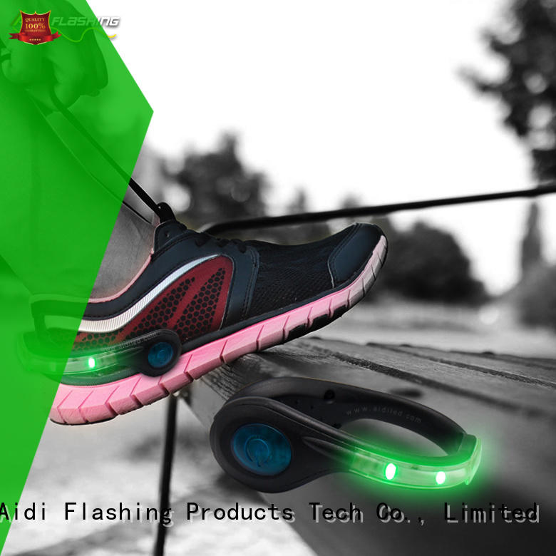 AIDI white led shoe clip lights with good price for outdoors